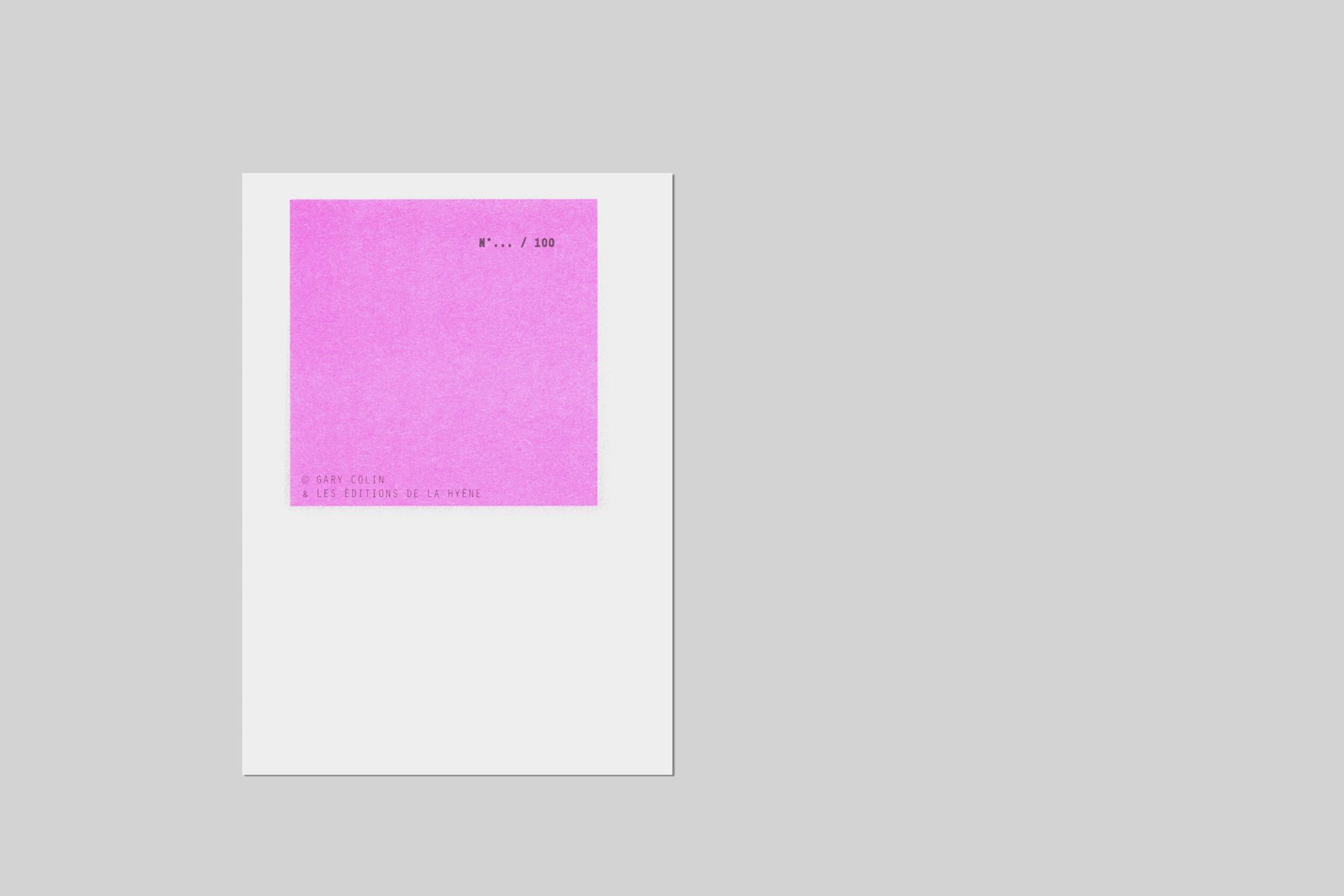 annuaire telephone risograph zine A6 book